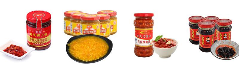 酱料市场节节攀升,辣椒酱灌装生产线现发展新趋势