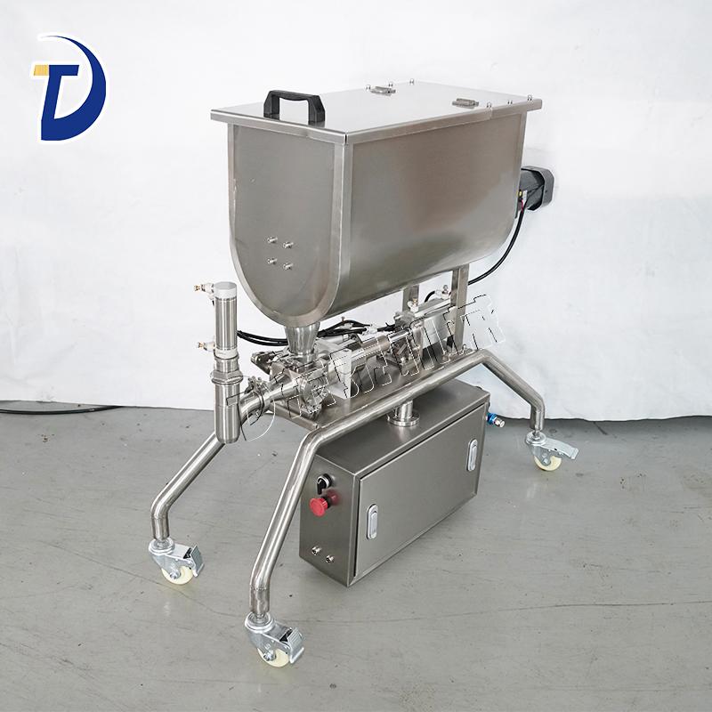 东泰机械教您正常操作使用这款辣椒酱灌装机!